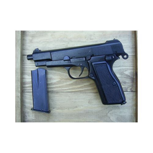 Browning Hi Power GP35 Auto metal replica, relics military pattern - Relics Replica Weapons