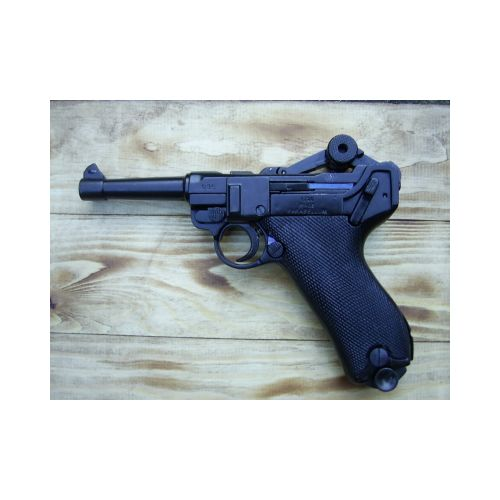 Luger P-O8 German metal replica pistol by Denix - Relics Replica Weapons