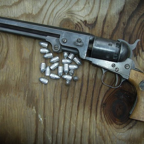 Colt Army cap and ball Revolver Black n Brass- Relics Replica Weapons