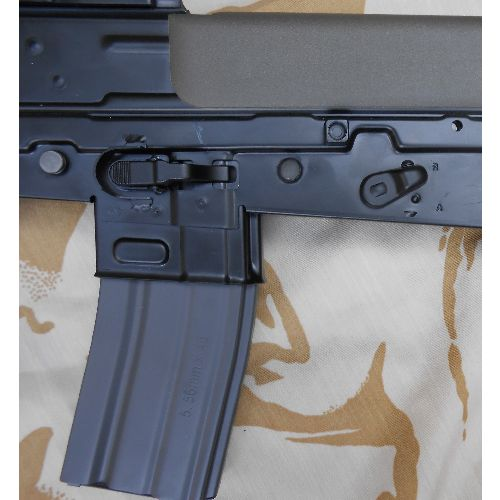 L85 SA80 Rifle metal and plastic replica - Relics Replica Weapons