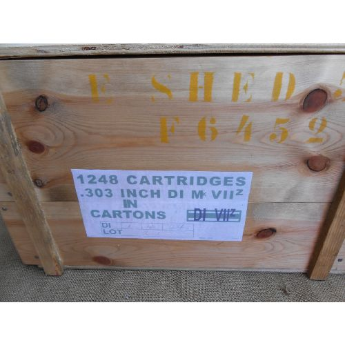 Ammunition Box British .303 calibre ammo crate WW2 Pattern - Relics Replica Weapons