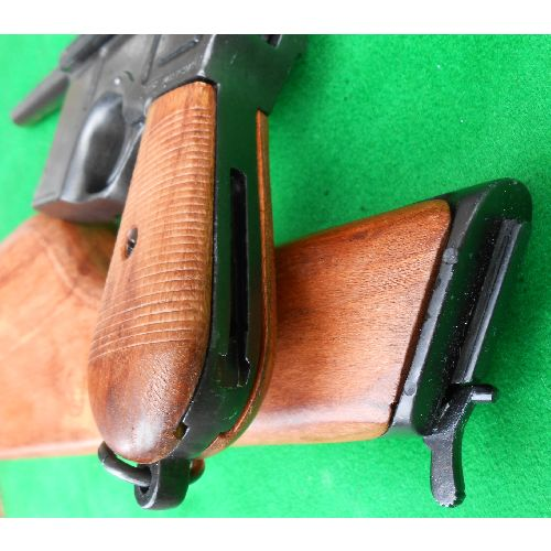 Mauser C96 Broomhandled Machine Pistol by Denix - Relics Replica Weapons