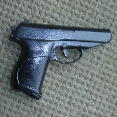 Walther PPK resin replica James Bond pistol - Relics Replica Weapons