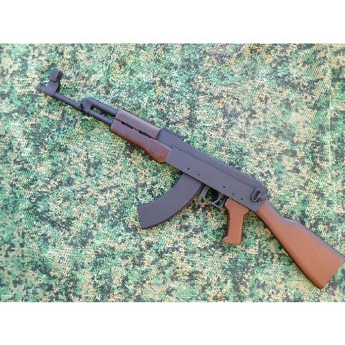 AK47 Soviet Wooden Replica Kalashnikov Kit Rifle - Relics Replica Weapons