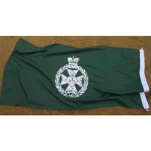 Royal Green Jacket Flag 48 x 24 inch  - Relics Replica Weapons