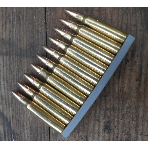 5.56 .223 CALIBRE M249 MINIMI  x 10 INERT BULLETS - Relics Replica Weapons