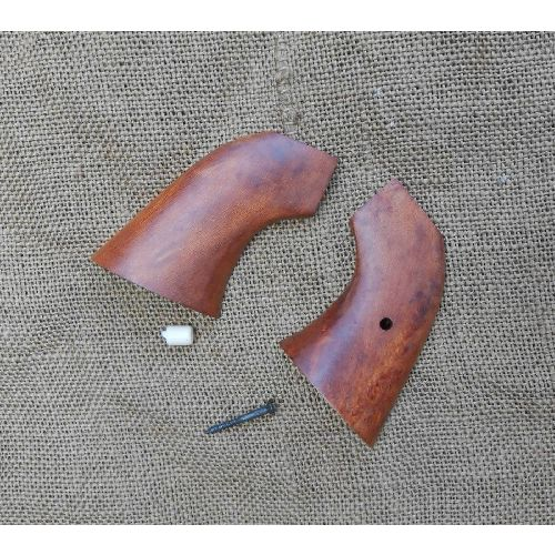 Cap n Ball Denix Revolver Wood Grips Colt Army and Navy type - Relics Replica Weapons
