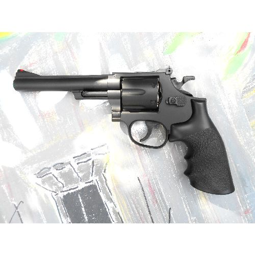 Smith and Wesson Magnum .44 calibre replica revolver with 6 inch barrel  - Relics Replica Weapons
