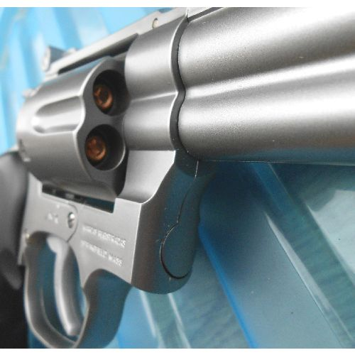 Magnum 44  replica stainless look plastic gun 6 inch barrel - Relics Replica Weapon