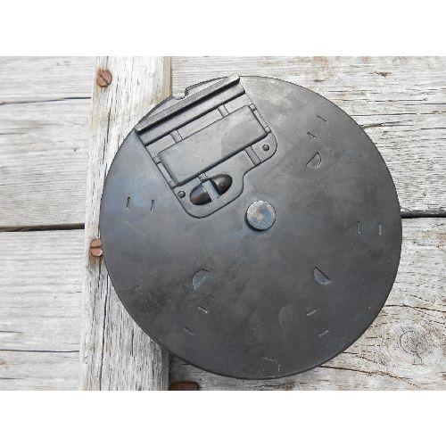 50 round metal Drum Magazine for the Denix Thompson 1921 metal replica Sub Machine Gun - Relics Replica Weapons