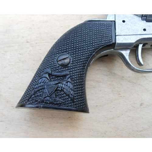 Grips Denix Sixgun black chequered - Relics Replica Weapons