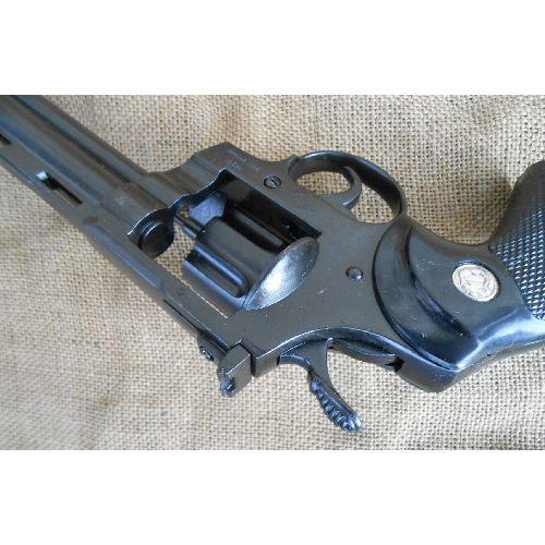 Magnum .357 Colt Python 4 inch metal Denix Replica Revolver - Relics Replica Weapons