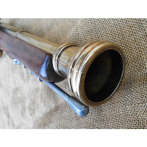 English Coaching Blunderbuss-Flintlock Musket - Relics Replica Weapons