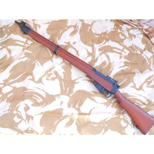 Lee Enfield Rifle No.4 British WW2 wooden replica - Relics Replica Weapons
