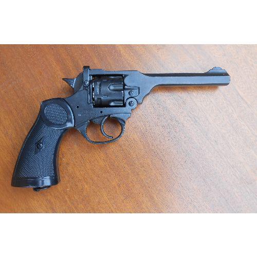 Webley MK4 Replica WW2 Revolver by Denix - Relics Replica Weapons
