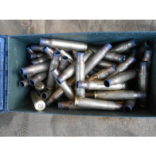 Bullet Cases Empty 7.62 Genuine Machine Gun ex fired - Relics Replica Weapons
