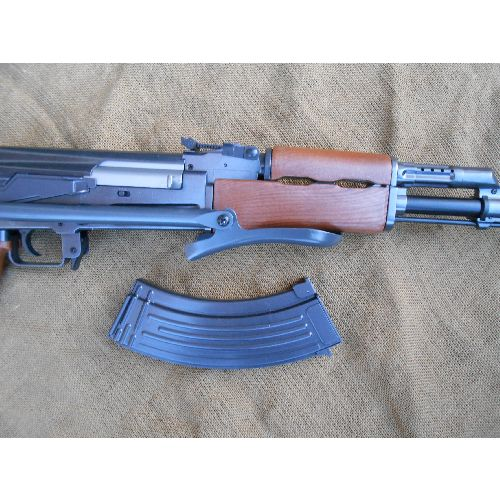 AK47 Soviet Kalashnikov Rifle with metal folding stock - Relics Replica Weapons