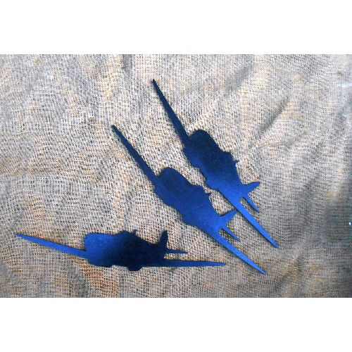 Spitfire wall plaque set of 3 silouettes - Relics Replica Weapons