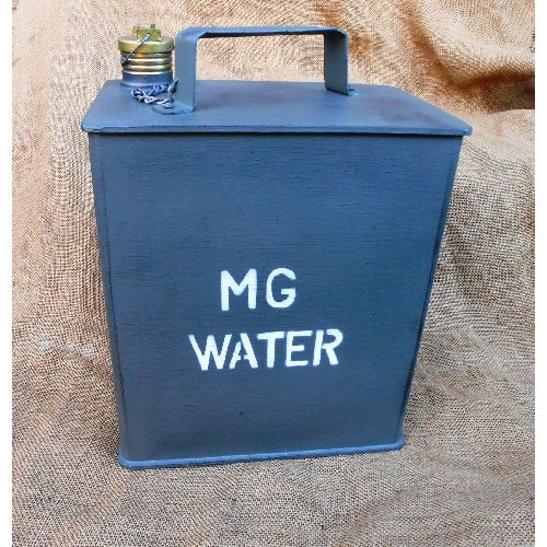 replica water can for ww1 ww2 machine guns