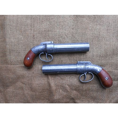 American Pepperbox Revolver Allen and Thurber - Relics Replica Weapons