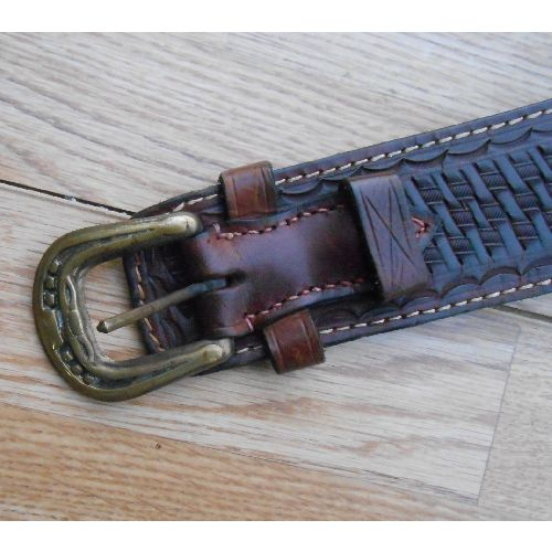 REAL LEATHER FAST DRAW HOLSTER AND PISTOL