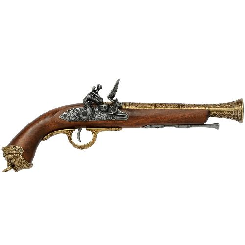 Italian Horsemans Flintlock - Relics Replica Weapons