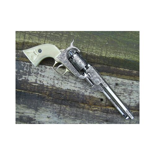Navy Colt Officers dress pattern cap and ball revolver - Relics Replica Weapons