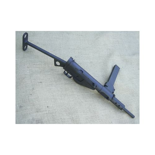STEN MK11 T butt wooden Replica Sub Machine Prop Gun - Relics Replica Weapons