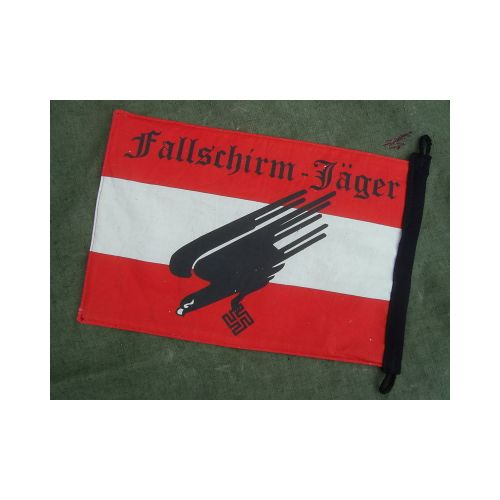 Fallschirmjager German WW2 Flag Pennant - Relics Replica Weapons