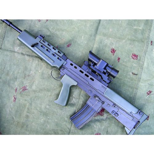 SA80 L85-A1 British Army Rifle - Relics Replica Weapons