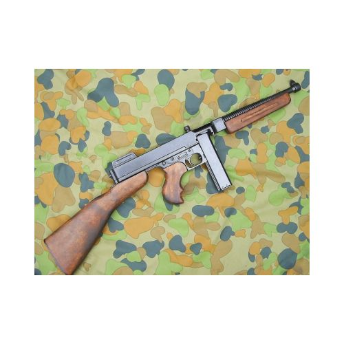 Thompson 1928 M1 metal replica Sub Machine Gun WW2 type by Denix - Relics Replica Weapons
