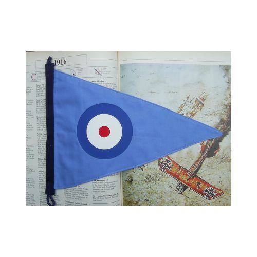 Royal Flying Corp, Royal Air Force Roundel Pennant - Relics Replica Weapons