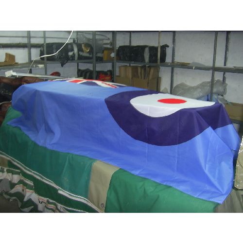RAF ENSIGN COFFIN DRAPE LARGE FLAG - Relics Replica Weapons