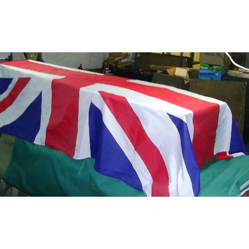 Coffin Drape/Flag Large Union Jack - Relics Replica Weapons