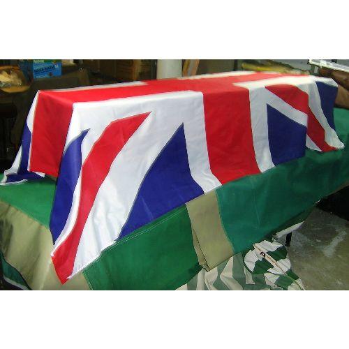 Coffin Drape/Flag Large Union Jack - Relics Replica Weapons