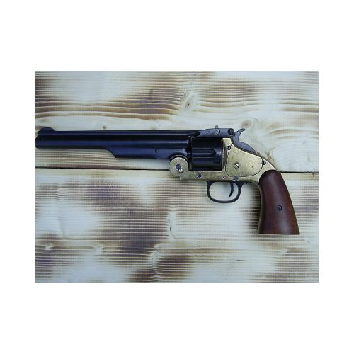 Schofield Smith and Wesson black revolver - Relics Replica Weapons