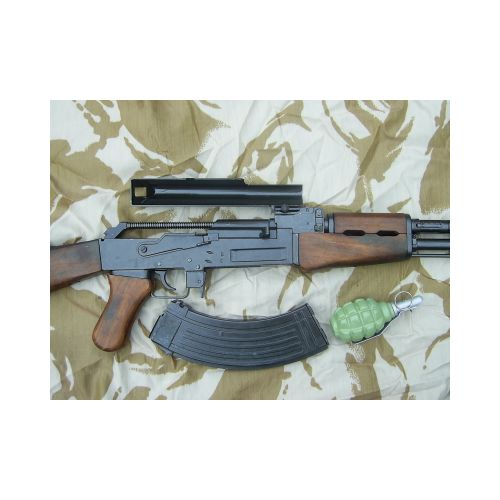 Kalashnikov AK47 metal and wood replica assault rifle - Relics Replica Weapons