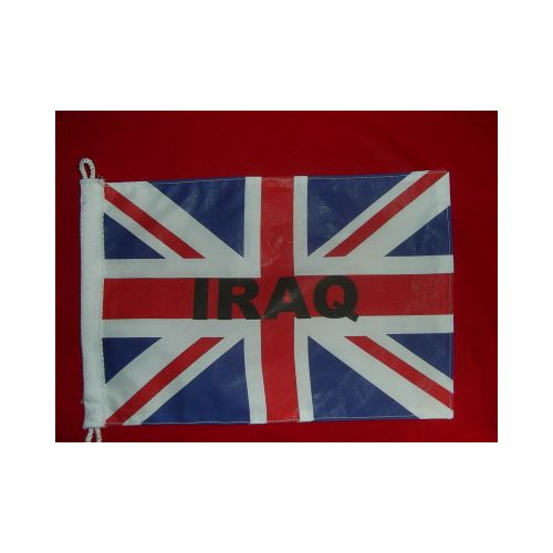IRAQ UNION JACK ANTENNA PENNANT - Relics Replica Weapons