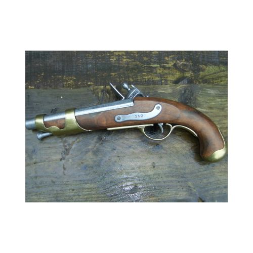 Classic French Napoleonic Cavalry Flintlock Pistol - Relics Replica Weapons