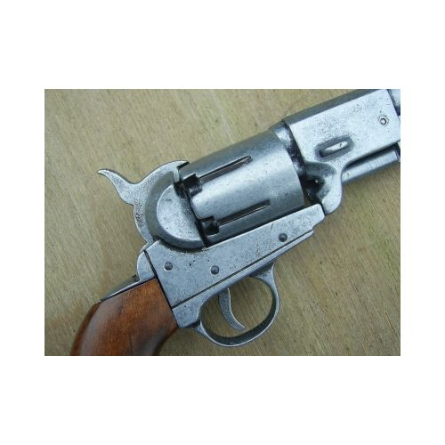 Navy Colt cap and ball steel finish pistol - Relics Replica Weapons