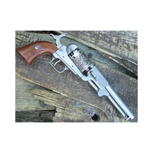 Colt Dragoon Steel Finish Revolver - Relics Replica Weapons