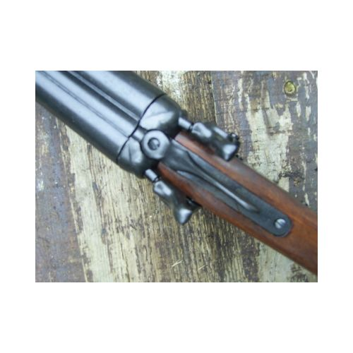 SAWN OFF DOUBLE BARRELLED SHOTGUN CUT DOWN 12 GAUGE METAL REPLICA - Relics Replica Weapons