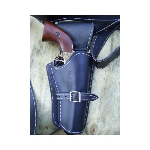 Cowboy Holster Rig with Single Pocket - Relics Replica Weapons
