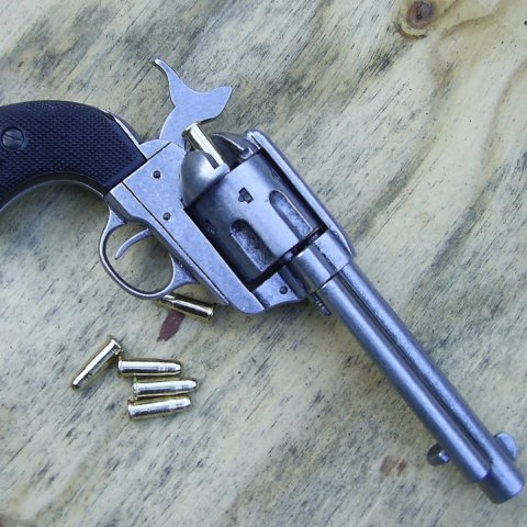Colt Frontier Steel Sixgun with simulated gutta percha - Relics Replica Weapons