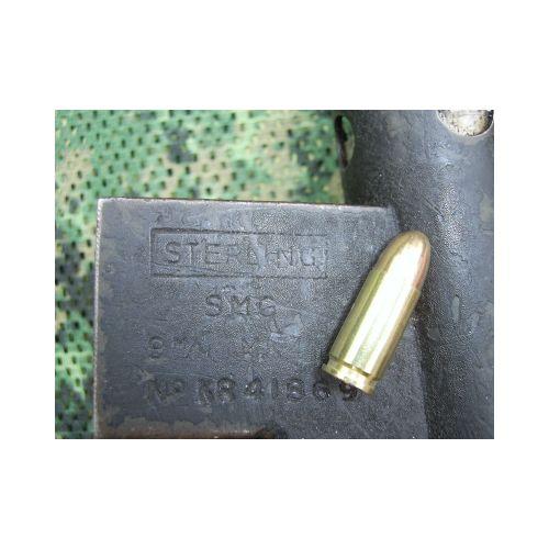 9mm GENUINE INERT BULLETS x 12 - Relics Weapons