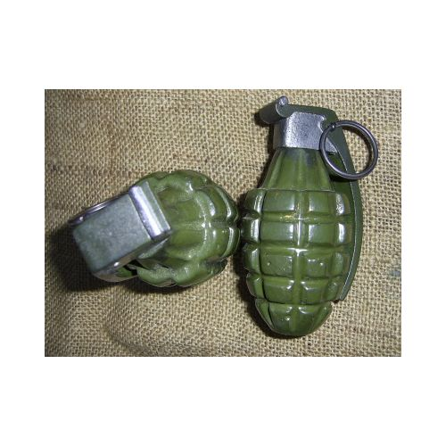 US WW2/Korean War style fragmentation M2 Pineapple Standard Grenade - Relics Replica Weapons