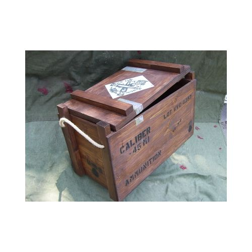 WW2 American Ammunition Box for .45 Calibre Colt Ammo - Relics Replica Weapons