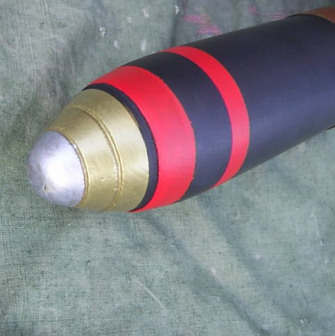 Shell 13 or 18 Pound WW1 British Cannon Round - Relics Replica Weapons