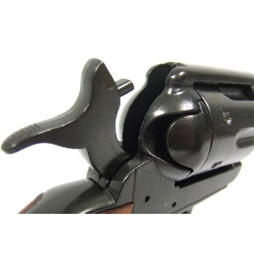 Buntline Special Gun Black Single Action Long Barrelled Sixgun Colt Revolver -  Relics Replica Weapons