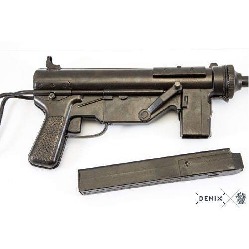 M3 Grease Gun US WW2 Sub Machine Gun Metal Replica
